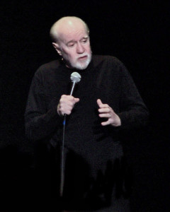 """George Carlin's """"Seven Dirty Words"""" comic monologue was the subject of the FCC v. Pacifica Foundation case of 1978. In the end, the court supported the FCC's restrictions on indecency (as opposed to obscenity). Indecent content, the FCC said, would be restricted to the hours of 10 p.m. to 6 a.m."""